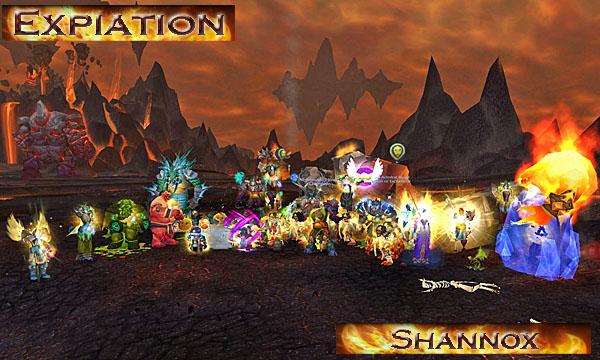 Screenshot of Expiation downing Shannox in Firelands